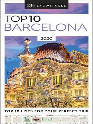 cover image of DK Eyewitness Top 10 Barcelona