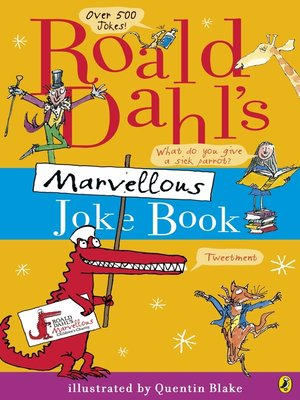 cover image of Roald Dahl's Marvellous Joke Book