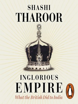 cover image of Inglorious Empire