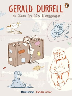 cover image of A Zoo in My Luggage