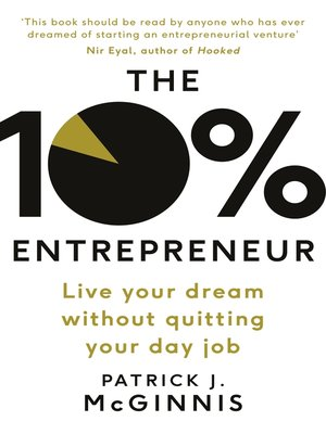 cover image of The 10% Entrepreneur
