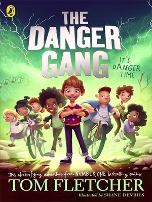 cover image of The Danger Gang