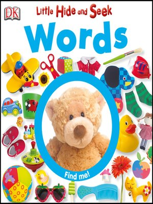 cover image of Little Hide and Seek Words