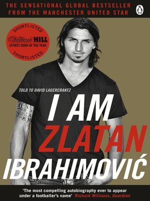 cover image of I Am Zlatan Ibrahimovic
