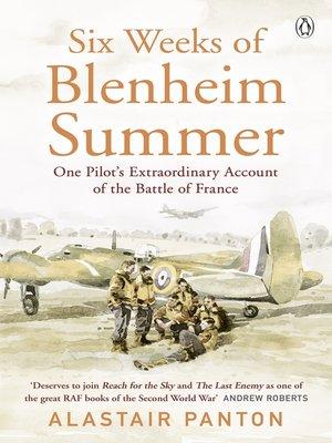 cover image of Six Weeks of Blenheim Summer