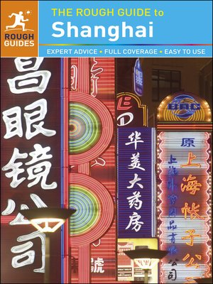 The rough guide to shanghai: rough guides: 9780241279021.