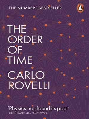 cover image of The Order of Time