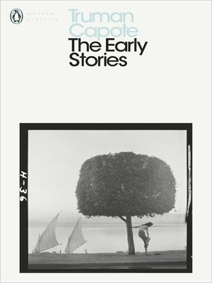 cover image of The Early Stories of Truman Capote