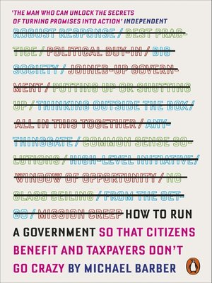 cover image of How to Run a Government