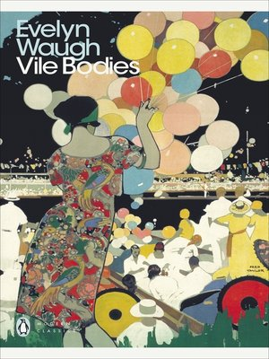 cover image of Vile Bodies