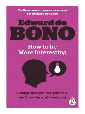 cover image of How to be More Interesting