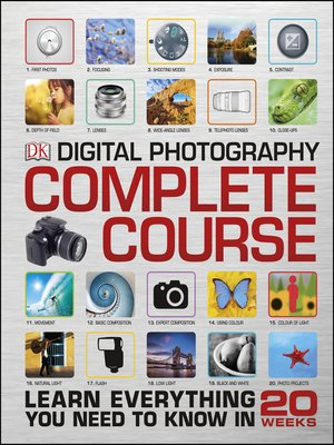 cover image of Digital Photography Complete Course
