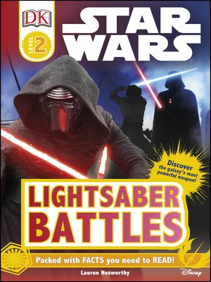 cover image of Star Wars Lightsaber Battles