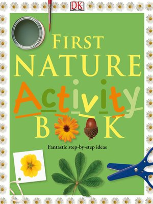 cover image of First Nature Activity Book