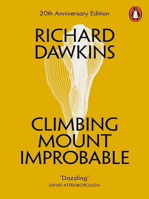 cover image of Climbing Mount Improbable