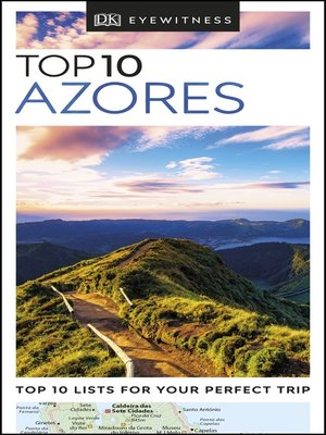 cover image of DK Eyewitness Top 10 Azores