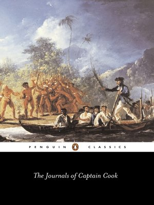 cover image of The Journals of Captain Cook