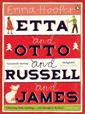 cover image of Etta and Otto and Russell and James
