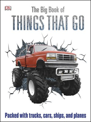 cover image of The Big Book of Things That Go