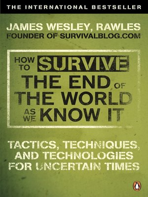 cover image of How to Survive the End of the World As We Know It