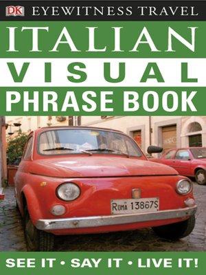 cover image of Italian Visual Phrase Book
