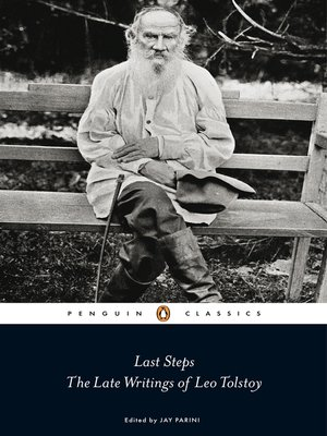 cover image of Last Steps:  the Late Writings of Leo Tolstoy