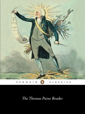 cover image of Thomas Paine Reader
