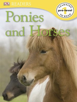 cover image of Ponies and Horses