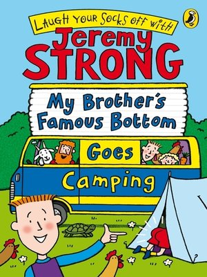 cover image of My Brother's Famous Bottom Goes Camping