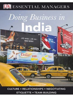cover image of Doing Business in India