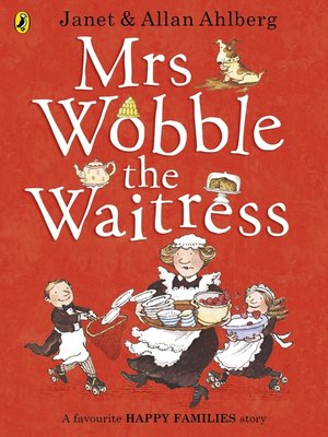 cover image of Mrs Wobble the Waitress