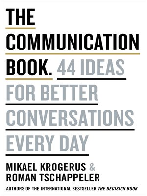 cover image of The Communication Book