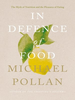 cover image of In Defence of Food