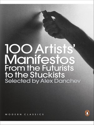 cover image of 100 Artists' Manifestos