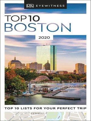 cover image of DK Eyewitness Top 10 Boston