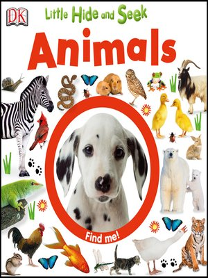 cover image of Little Hide and Seek Animals