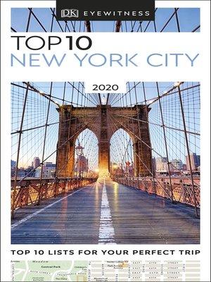 cover image of DK Eyewitness Top 10 New York City