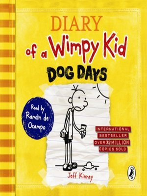 cover image of Dog Days (Diary of a Wimpy Kid book 4)