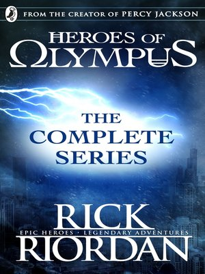 Heroes Of Olympus Series Epub