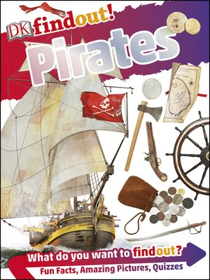 cover image of DKfindout! Pirates