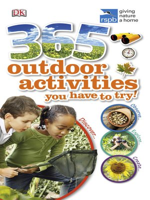 cover image of RSPB 365 Outdoor Activities You Have to Try
