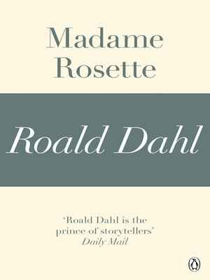 cover image of Madame Rosette