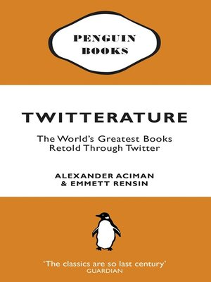 cover image of Twitterature