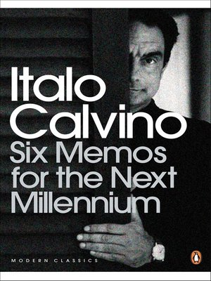 cover image of Six Memos for the Next Millennium