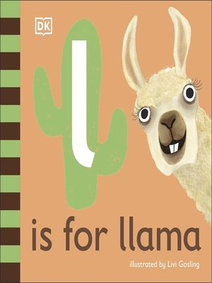 cover image of L is for Llama