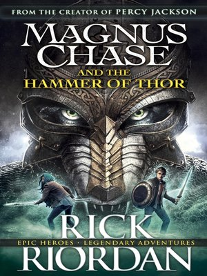 cover image of Magnus Chase and the Hammer of Thor