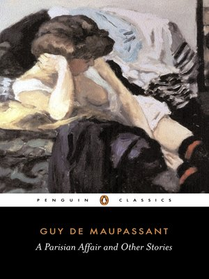 cover image of A Parisian Affair and Other Stories