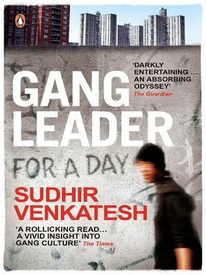 cover image of Gang Leader for a Day