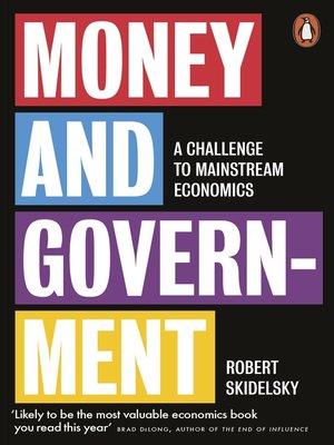 cover image of Money and Government