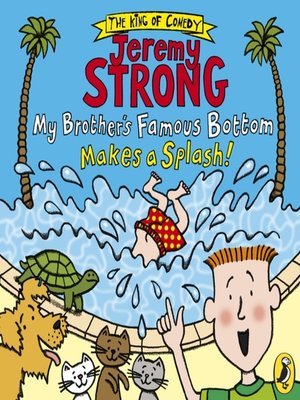 cover image of My Brother's Famous Bottom Makes a Splash!